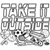225 Take it Outside Coloring Page
